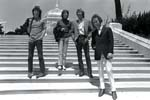 The Doors - Group Shot on steps